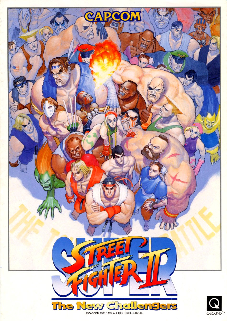 Street Fighter Galleries Super Street Fighter Ii