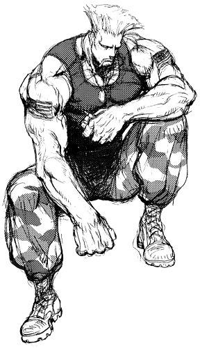Ryu vs chun li - 1 part 7