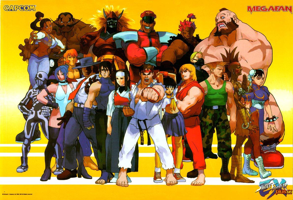 Sf Street Cleaning >> Street Fighter Galleries: Street Fighter EX, EX+, EX+A